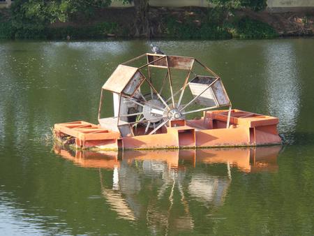 molino de agua: molino de agua Foto de archivo