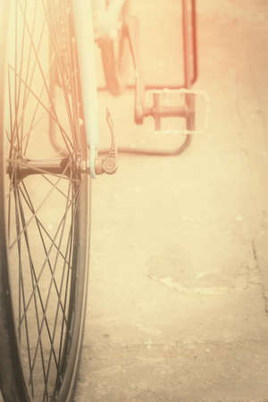 bicycle wheel: Vintage bicycle wheel
