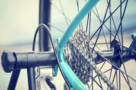 Bicycle gears photo