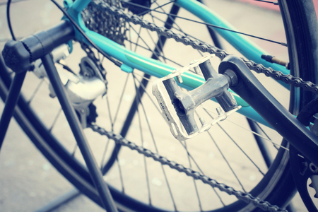 Bicycle gears photo
