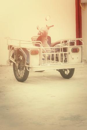 sidecar: motorbike sidecar