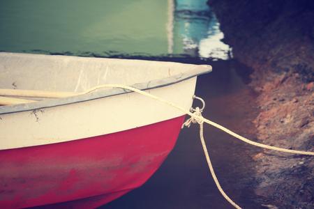 anchoring: Fishing boat