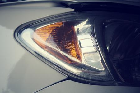 head light: Car head light.