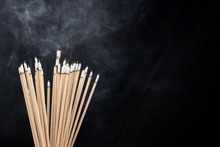 Incense sticks 스톡 콘텐츠