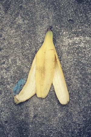 peel: Banana peel