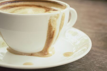 coffee stain: Stain of coffee