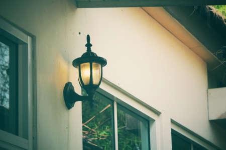 hanging lamp: Hanging lamp Stock Photo
