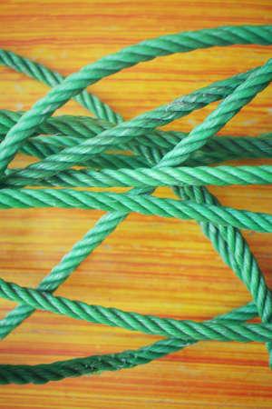 bundle: A bundle of plastic rope