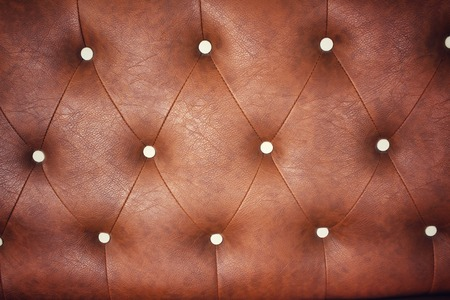 brown leather sofa: Vintage brown leather sofa