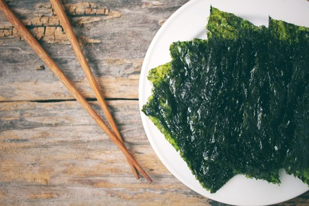Korean seaweed Stock Photo
