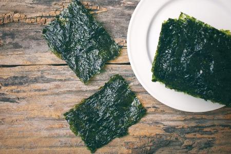 algas marinas: Algas coreana Foto de archivo