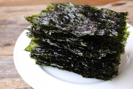 Korean seaweed Standard-Bild