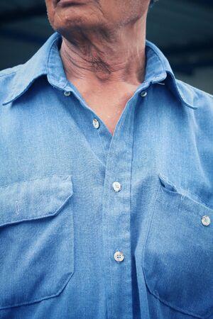bluejeans: Blue jean shirt