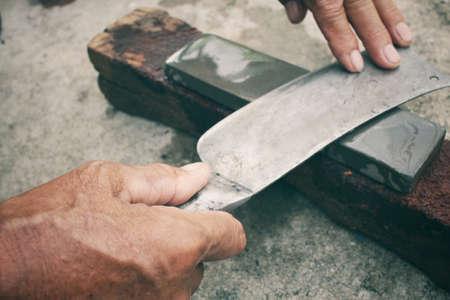 grinder: Vintage knife grinder