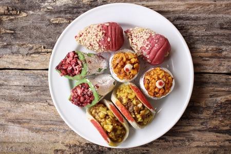 bonbons: Indische Süßigkeiten