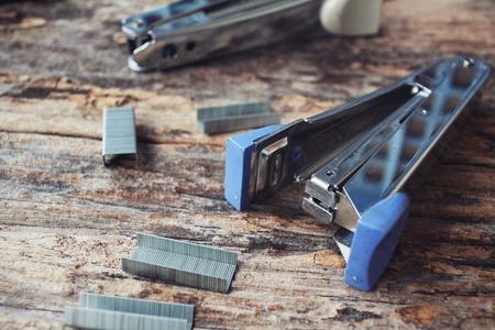 stapler: Stapler and staples.