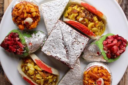 Indian sweets Standard-Bild