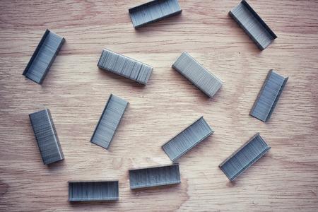 stapled: Stapled paper