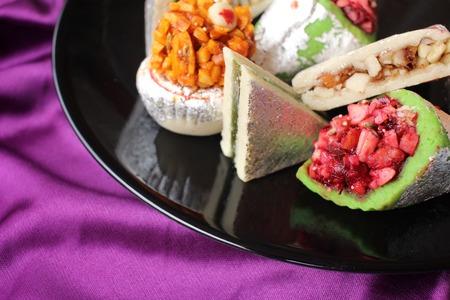 punjabi: Indian desserts Stock Photo