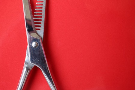 hair cutting: Hair cutting shears