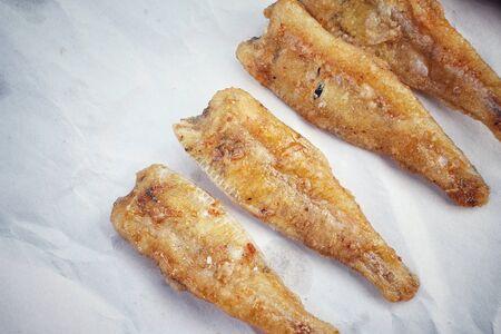 pescado frito: Pescado frito