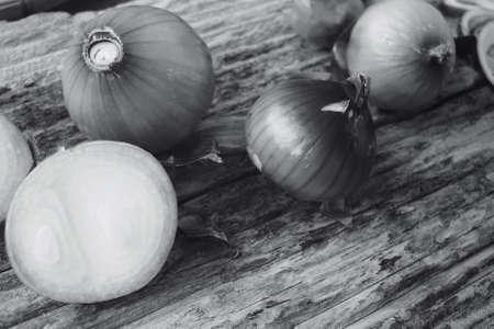 cebollas: Red onions