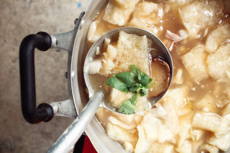 maw: Chinese soup or fish maw soup