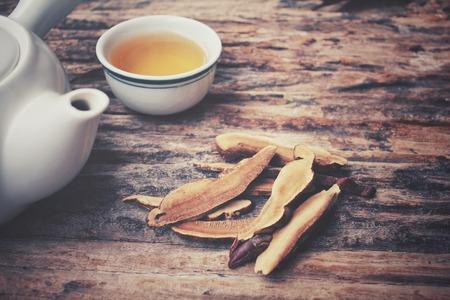 Ganoderma lucidum tea - Ling zhi mushroom.