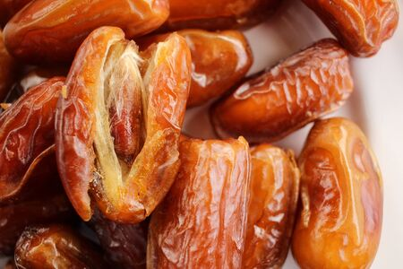 date palm: Dried date palm Stock Photo