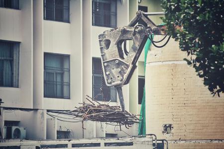 demolition: Building demolition debris