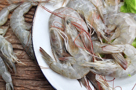 tiger shrimp: Fresh shrimp