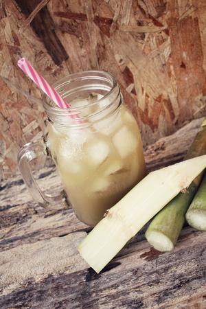 sugar cane: Drink of sugar cane.
