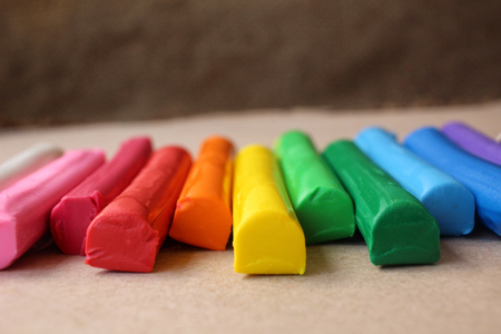 childs play clay: Colorful clay