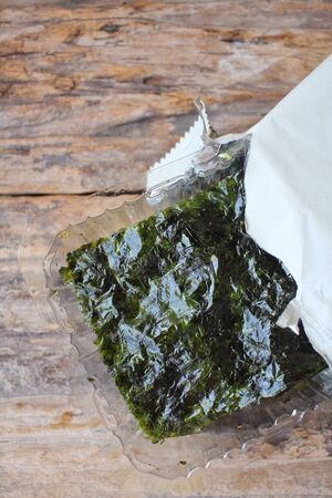 seaweed: Korean seaweed Stock Photo
