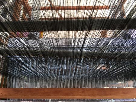 weaving: Weaving thread