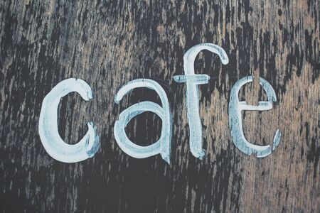signboard: Cafe signboard