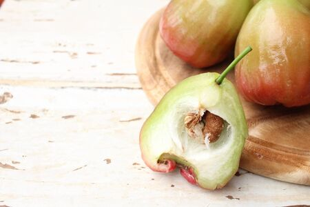 nutriment: Rose apple Stock Photo