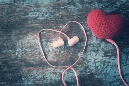 earphone: Earphone with heart
