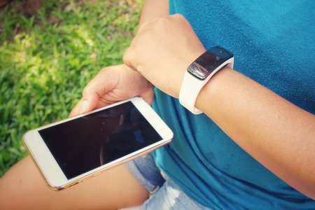 call of nature: Smartwatch with smart phone