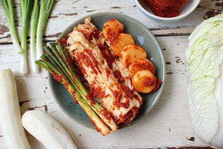 Kimchi nourriture coréenne Banque d'images - 51383251
