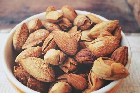 almonds: almonds