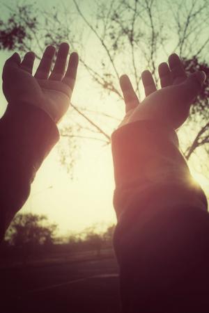 hands reaching: Hands reaching