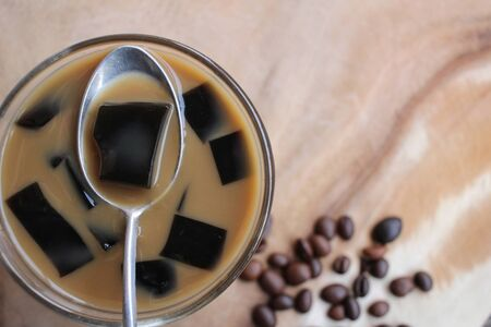 coffee jelly: Jelly coffee