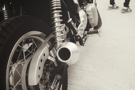 springy: shock absorber motorcycl