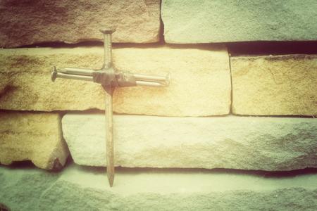 resurrección: Cruz de clavos