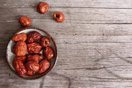 jujube: Red jujube fruit Stock Photo