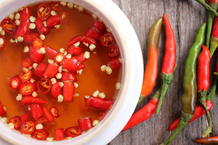 fish sauce: Fish sauce with chili