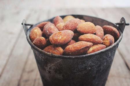 almonds: Almonds Stock Photo