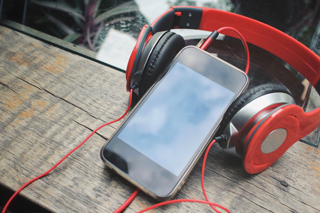 Headphones with smart phone