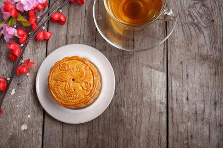 Festival moon cake china dessert